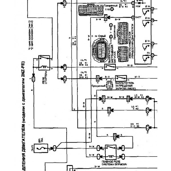 1994 toyota previa wiring harness diagram