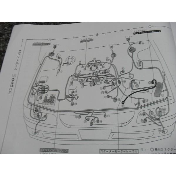 หนังสือ wiring diagram nissan avenir ปี 98