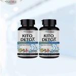อาหารเสริมลดน้ำหนัก Kito Detox 40 เม็ด x 2 ขวด