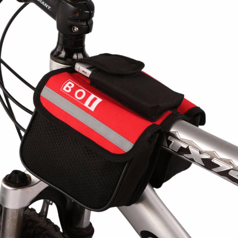 กระเป๋าจักรยาน BOI แบบยึดกับตัวถังรถ