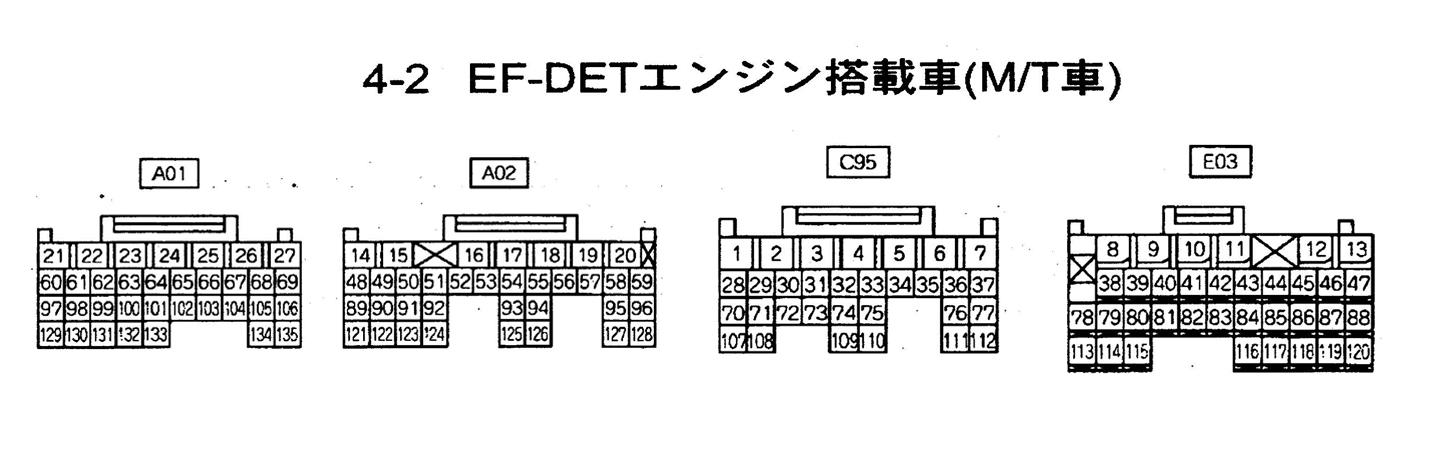 หนังสือ วงจรไฟฟ้า Wiring Diagram รถยนต์ DAIHATSU MOVE ทั้งคัน โฉมปี '03 - 1