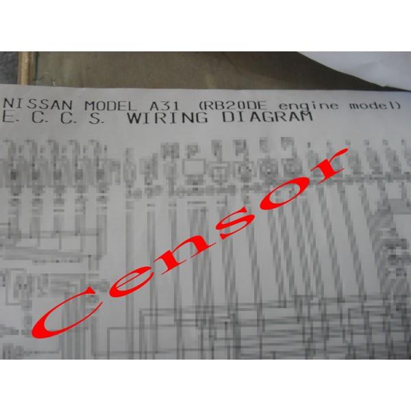 หนังสือ Wiring Diagram Rb20de Nissan Cefiro A31: Wiring Diagram Nissan Cefiro A31 At Jornalmilenio.com