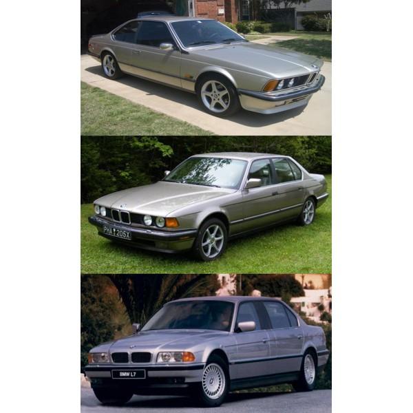 CD รวมวงจรสายไฟ WIRING DIAGRAM BMW ซีรี่ย์ 6, 7, L7 ปี 87 - 95