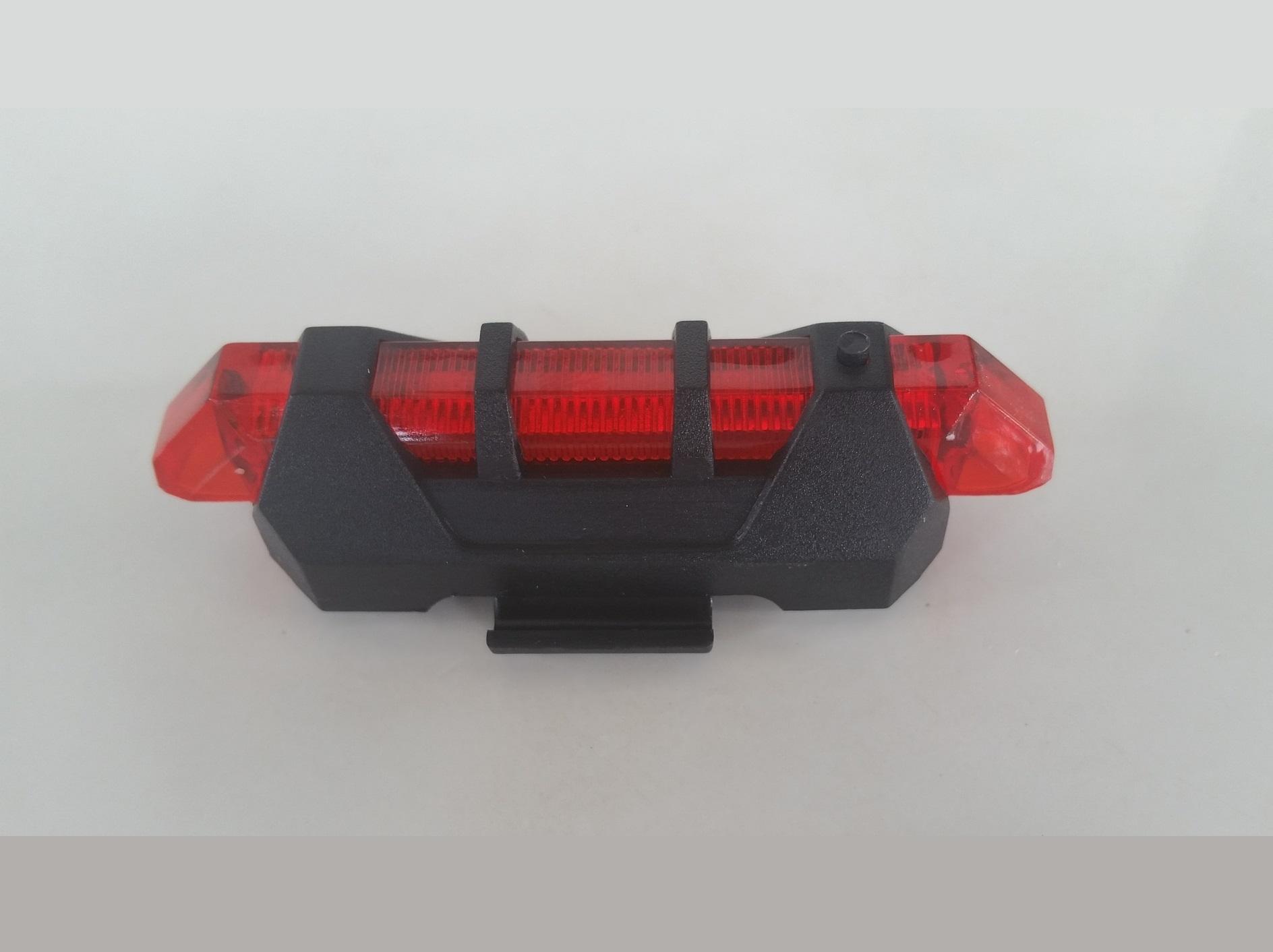 ไฟท้ายจักรยาน DC-928 USB Recharge (แสงสีแดง)