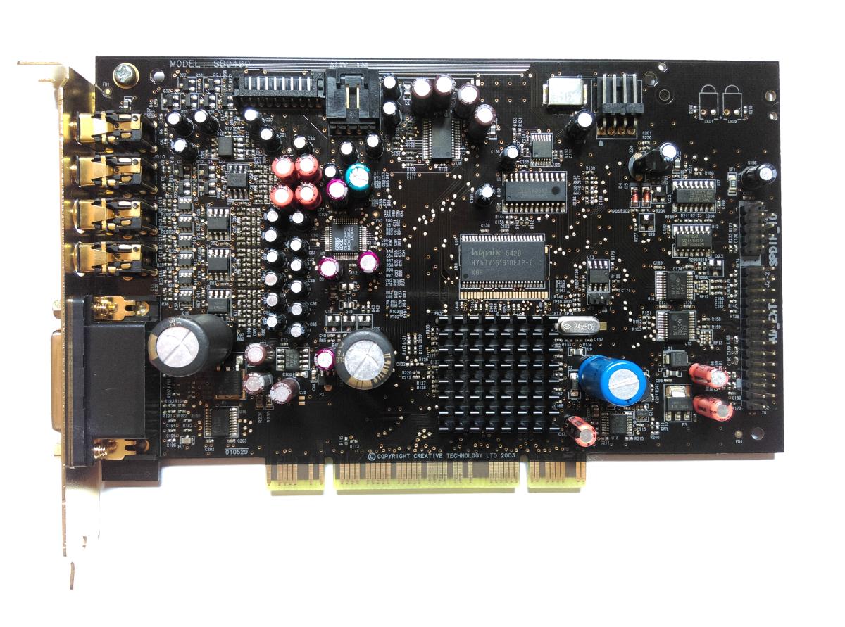 Creative X-Fi XtremeMusic SB0460 PCI 7.1 Mod