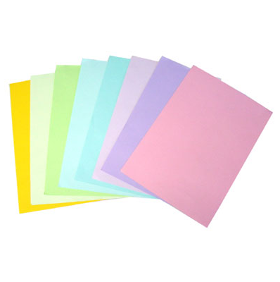 กระดาษการ์ดสี(ฟ้า) 210 แกรม/A4 (500 แผ่น)