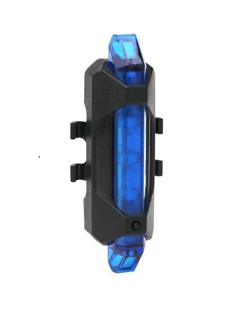 ไฟท้ายจักรยาน DC-928 USB Recharge (แสงสีน้ำเงิน)