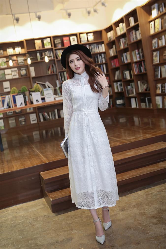เดรสสีขาว ผ้าลุกไม้น่ารักมากกก ลายสวยผ้านิ่มใส่สบาย กระดุมแกะ มีซับในแยกให้พร้อม เอวผูกปรับเองได้ หวานมากกกตัวนี้