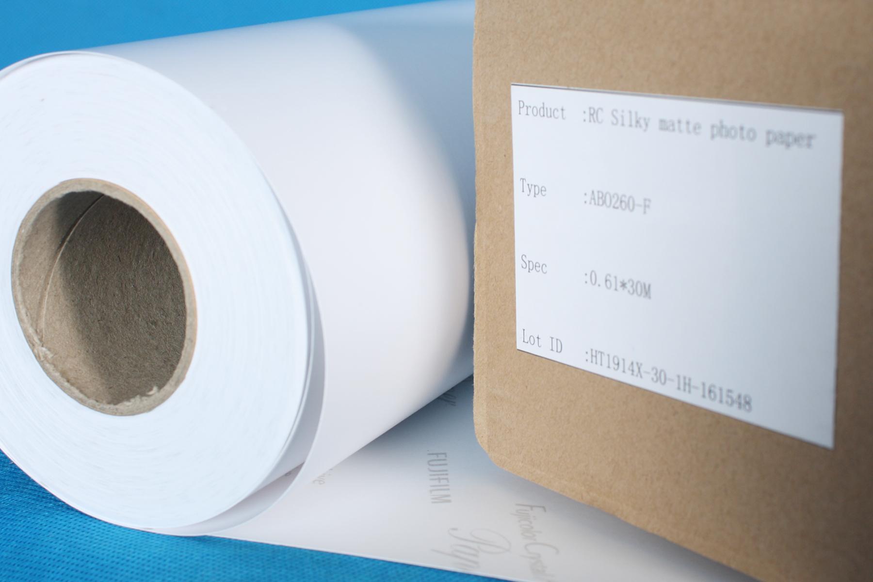 กระดาษโฟโต้ฟูจิ (Fuji) รุ่น Crystal Archive 260g ชนิดผิวด้าน แบบม้วน หน้ากว้าง 12นิ้ว ความยาว 30เมตร