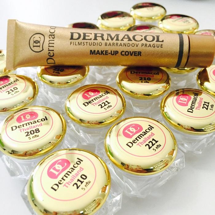 Dermacol (เดอร์มาโคล) แบบบีบแบ่ง 5 กรัม ขนาดทดลอง