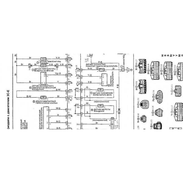 cd wiring diagram toyota noah 2c  3c