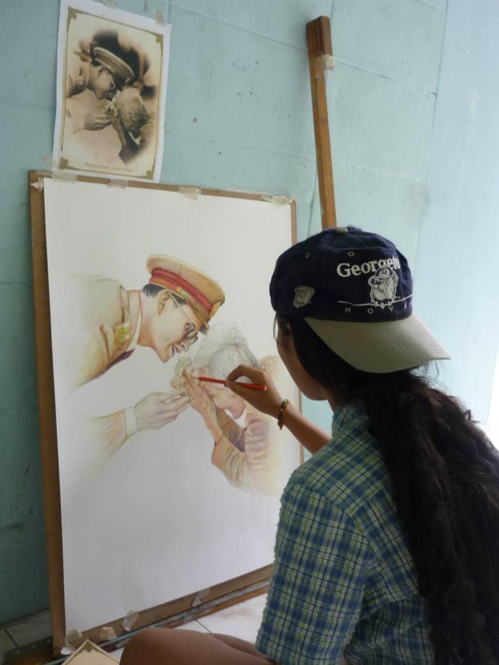 สอนวาดภาพศิลปะ
