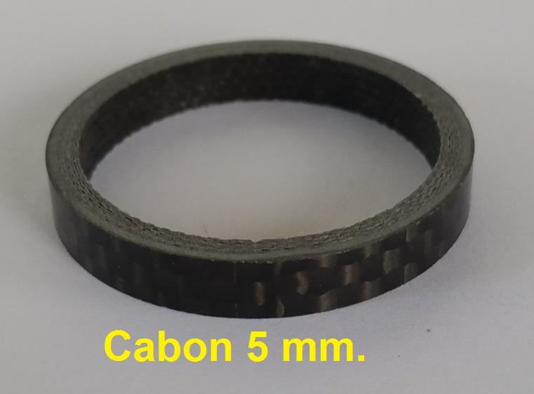 แหวนรองคอ คาร์บอน 5 mm