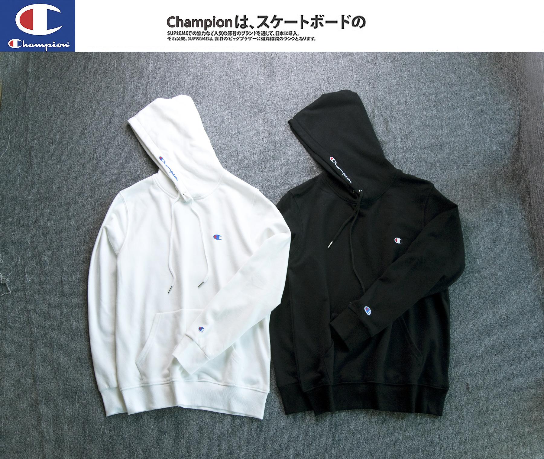 (Pre-Order) เสื้อ Champion Hoodie Logo Embroidery