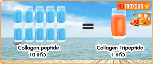 เปรียบเทียบ คอลลาเจนไตรเปปไทด์ กับคอลลาเจนทั่วไป