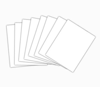 กระดาษการ์ดขาว 150 แกรม A3