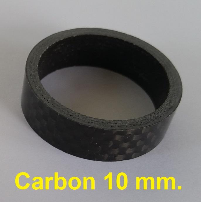 แหวนรองคอ คาร์บอน 10 mm.