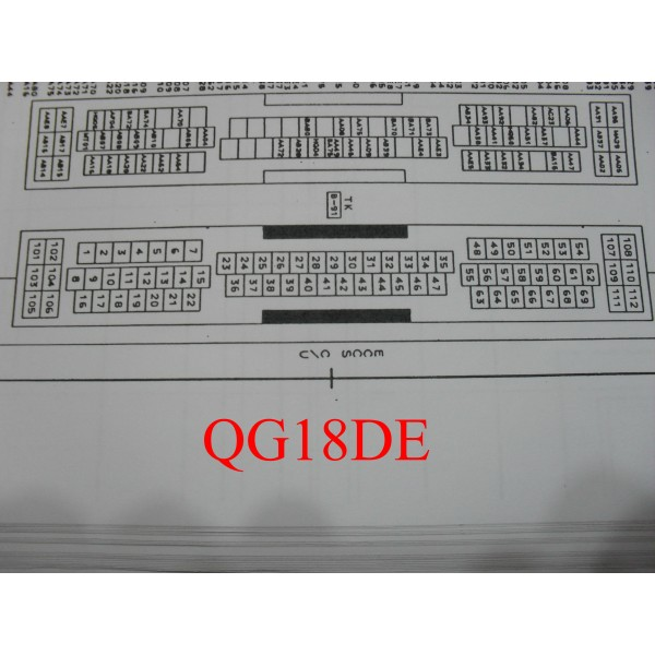 หนงสอ WIRING DIAGRAM NISSAN BLUEBIRD ป TK MANUAL - Wiring diagram nissan qg18
