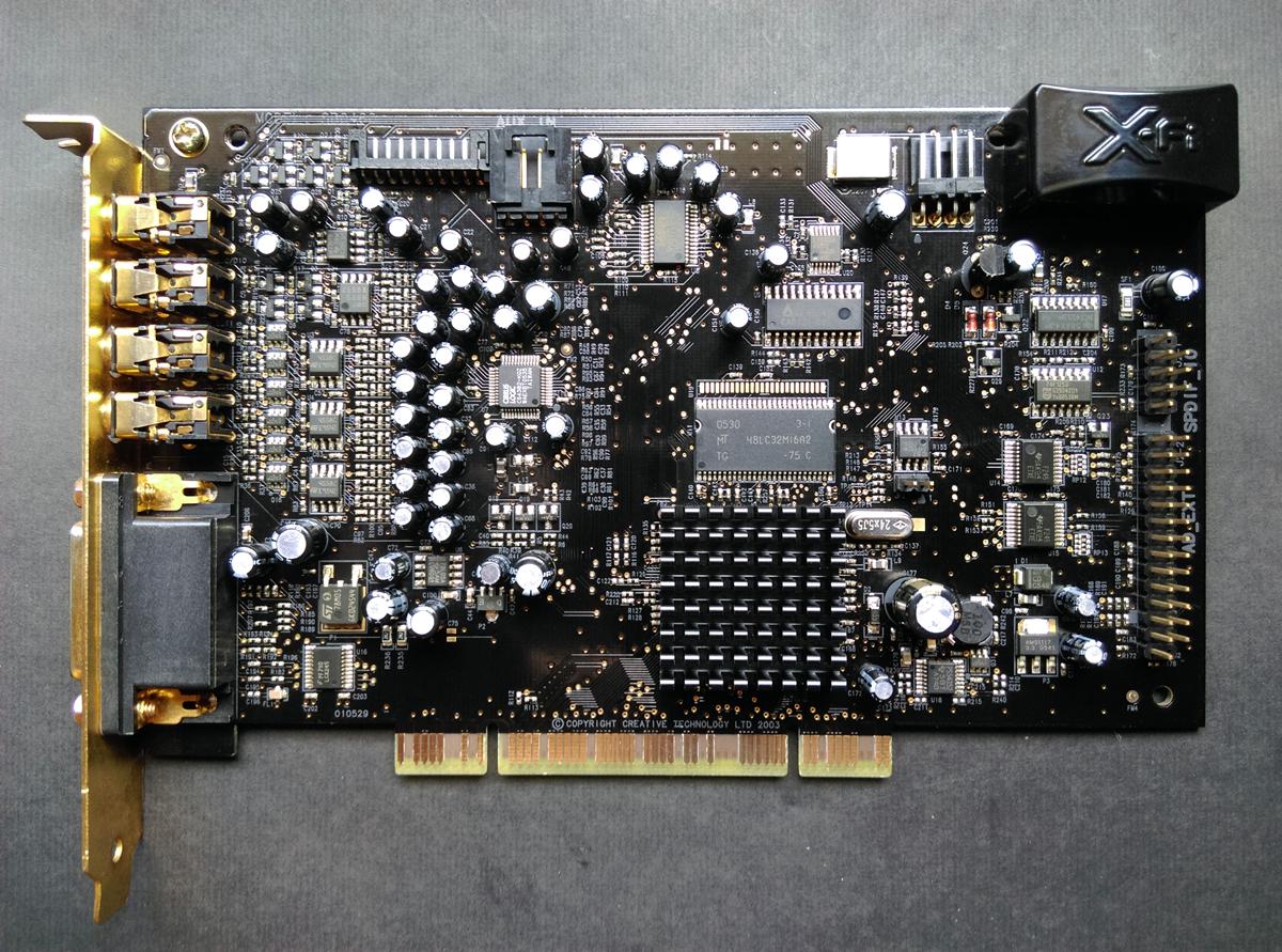 Creative Sound Blaster X-Fi Fatal1ty FPS PCI 7.1 SB0466