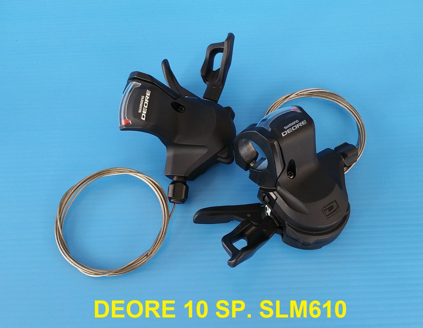 มือเกียร์ Shimano DEORE SLM610 10 Speed