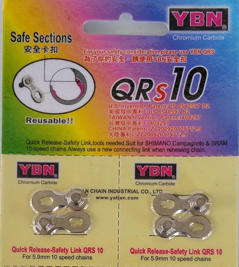 ข้อต่อโซ่ปลดเร็ว YBN 10 Speed