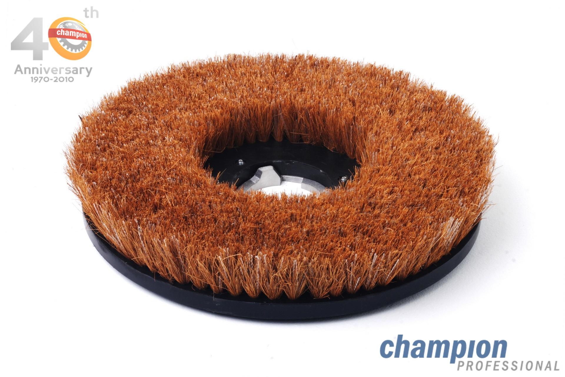 แปรงขัดเงา กากมะพร้าวอ่อน Champion Professional