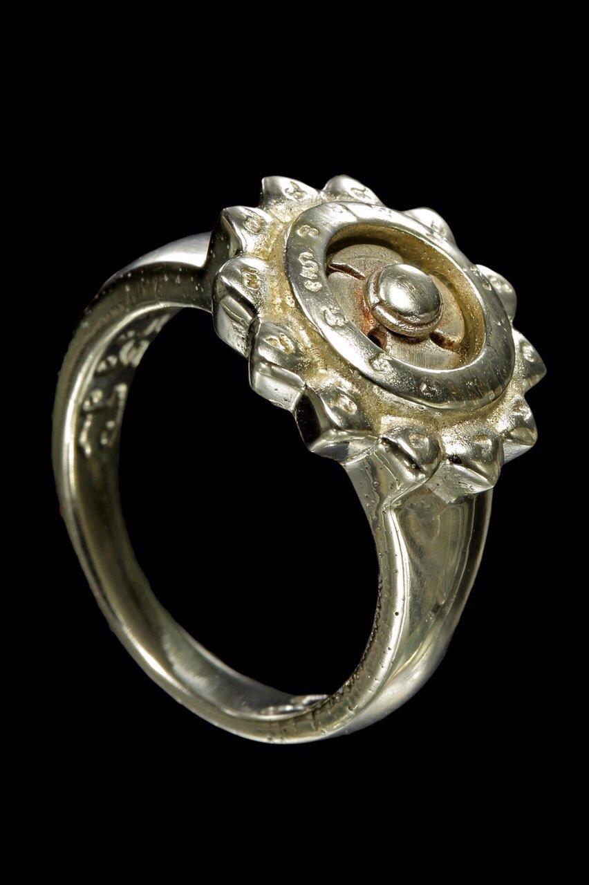 แหวนกังหันพัดโชค ครูบาอริยชาติ