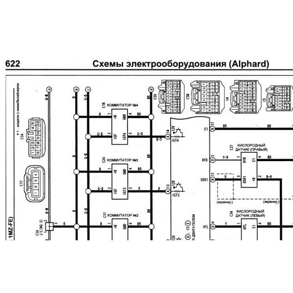 Toyota Estima Acr50 Wiring Diagram Schematics and Wiring Diagrams