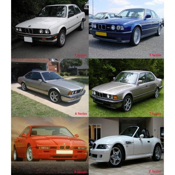 DVD รวมวงจรสายไฟ WIRING DIAGRAM BMW SERIES Z, 3, 5, 6, 7, 8 ปี 1982-2001
