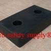 ยางกันกระแทก สี่เหลี่ยมตัน 26.5x46.5x10 cm