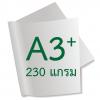 กระดาษอาร์ตการ์ดมัน 1 หน้า 230 แกรม A3+