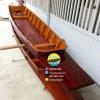 เรือไม้ตะเคียนทอง 500 ซม ชันยาเรือ ลงน้ำพายได้เลย แถมไม้พาย (ส่งทั่วประเทศ) มีแพน