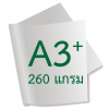 กระดาษอาร์ตการ์ดมัน 2 หน้า 260 แกรม/A3+ (500 แผ่น)