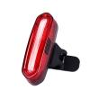 ไฟท้ายจักรยาน DEEMOUNT USB Recharge 100 lms+ (แสงสีแดงสลับฟ้า)