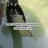 เรือไม้สัก พายเล่นในคลอง (ส่งทั่วประเทศ) ยาว 5 เมตร