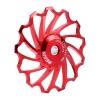 ลูกรอกตีนผี MEIJUN Ceramic 13T (สีแดง)