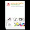 กระดาษอาร์ตด้าน 120 แกรม/A4 (500 แผ่น)