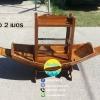 เรือสำปั้น 2 เมตร ไม้สักทอง พร้อมขาตั้ง ไม้พาย แถมป้ายมงคล (ส่งฟรีทั่วประเทศ) ขายพร้อมตู้ แถมชุดว่ายน้ำ