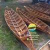 เรือไม้ยมหิน 400 ซม ชันยาเรือ ลงน้ำพายได้เลย แถมไม้พาย (ส่งทั่วประเทศ)
