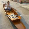 เรือไม้เนื้อแข็ง เรืออีแปะ 450 ซม ชันยาเรือ ลงน้ำพายได้เลย แถมไม้พาย (ส่งทั่วประเทศ)