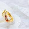 แหวนอินฟินิตี้พลอยนพเก้า