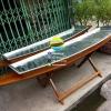 เรือไม้หุ้มมิเนียม มีทางน้ำออก ยาว 250 ซม (ส่งทั่วประเทศ)