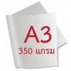 กระดาษอาร์ตการ์ดมัน 1 หน้า 350 แกรม/A3 (500 แผ่น)