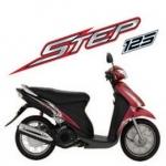 CD คู่มือซ่อม วงจรไฟฟ้า มอเตอร์ไซค์ Suzuki Step 125 UY125/s (TH)