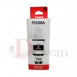น้ำหมึกเติม CANON GI790 สำหรับปริ้นเตอร์ CANON G-Series G1000 G2000 G3000 สี BK