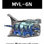 หนังสือ ภาษาไทย คู่มือซ่อม เกียร์ธรรมดา MVL-6N ISUZU D-max Blue Power