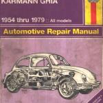 CD คู่มือซ่อมและ Wiring Diagram Volk Swagen BEETLE & KARMANN GHIA ปี 1954-1979 All models