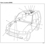 CD WIRING DIAGRAM ISUZU TROOPER 1998-2002 6VE1 , 6VD1 , X22SE , Y22SE , 4JG2 (EN)