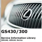 CD คู่มือซ่อม และวงจรสายไฟ LEXUS GS430 GS300 ปี 1997-2000 (2JZ-GE, 3UZ-FE VVt-I) EN