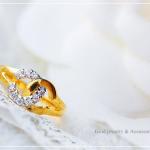 แหวน CHANNEL ประดับเพชรสวิส